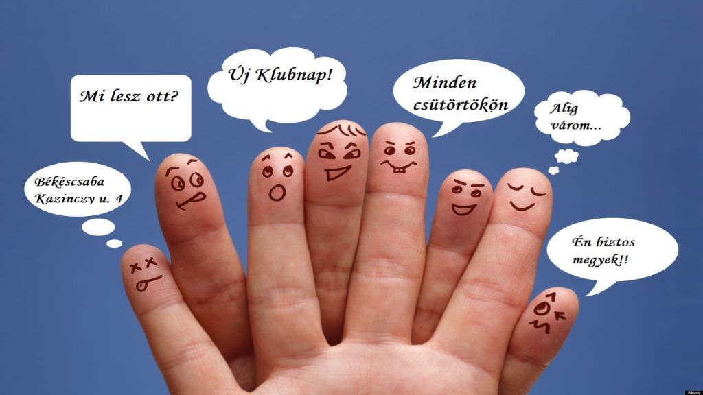 a kéz ujjai beszélgetnek
