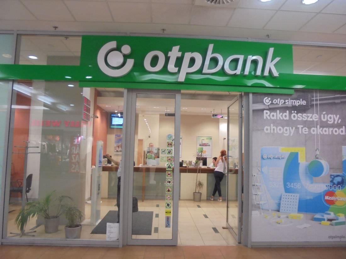 A Csaba Centerben lévő OTP Bank fiók