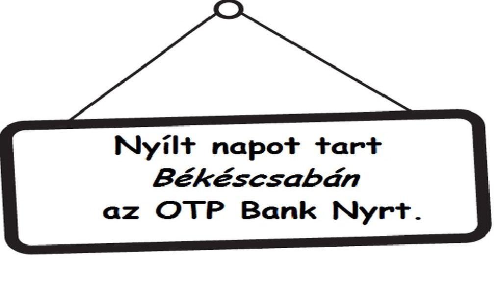Nyílt napot tart Békéscsabán az OTP Nyrt.