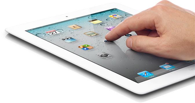 tablet, amit valaki használ