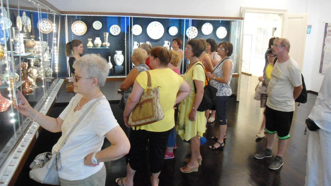 Zsolnay negyed múzeumban