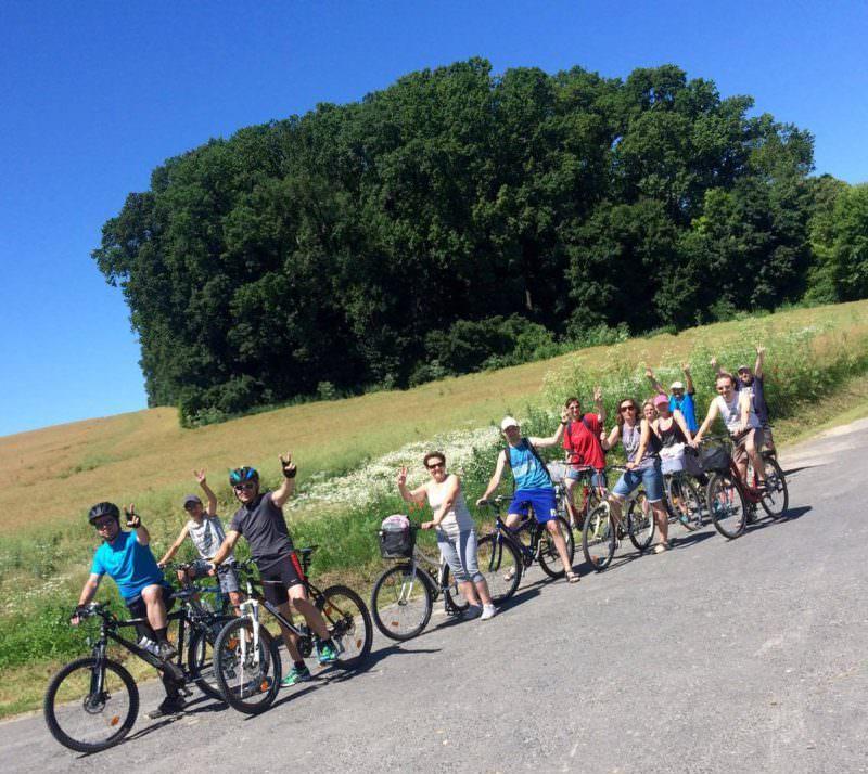 deseda kerékpárút térkép Kerékpártúrán voltunk a Deseda tó körül | SINOSZ