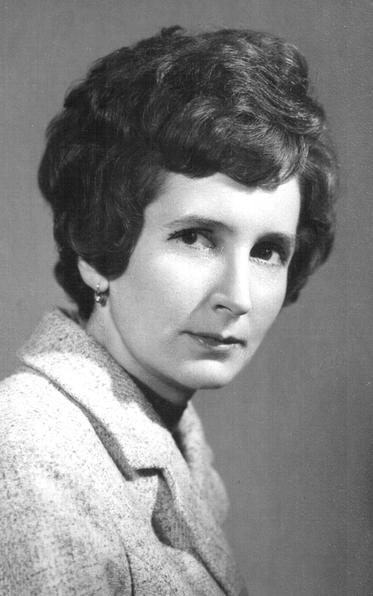Virágh Károlyné fiatal kori portréja