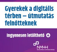 Értsen a gyerek nyelvén! - ingyenesen letölthető NMHH-kiadvány