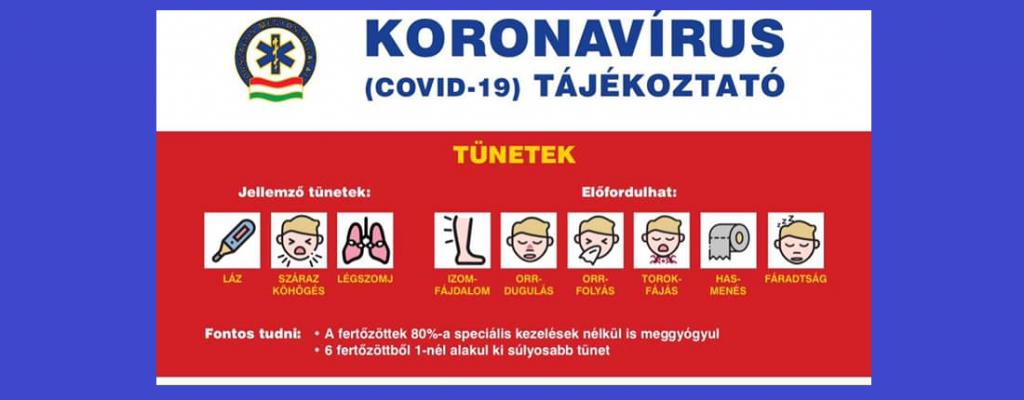 vírus 2021 tünetei
